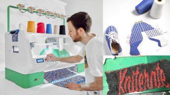 Kniterate-ov stroj za personalizirano pletenje