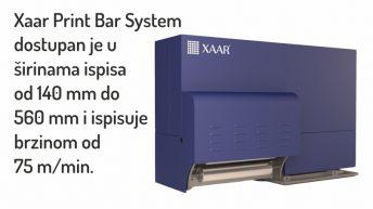 XAAR PRINT BAR SYSTEM – veliki korak u industrijskom tisku