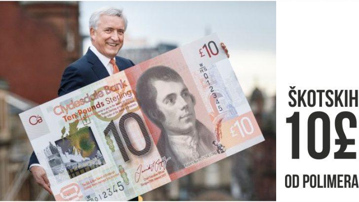 Škotske novčanice od polimera