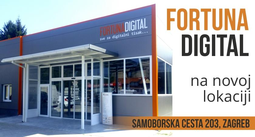 Fortuna Digital – preseljena zagrebačka poslovnica