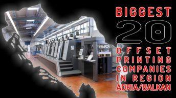 Analysis of offset printing companies – AB region