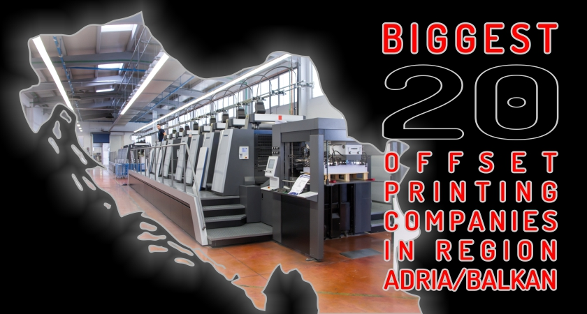 Analysis of offset printing companies – AB region