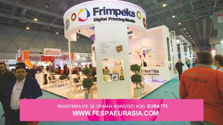 FESPA Eurasia 2017 – besplatne karte