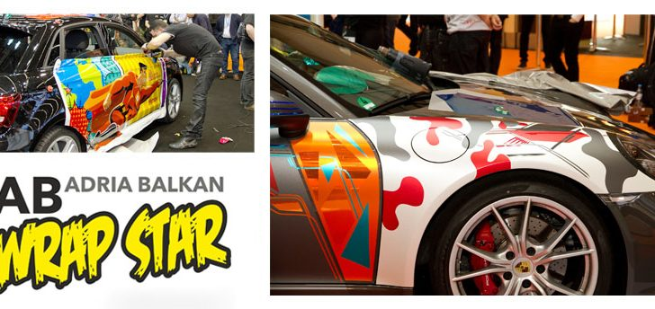 Car wrapping je in