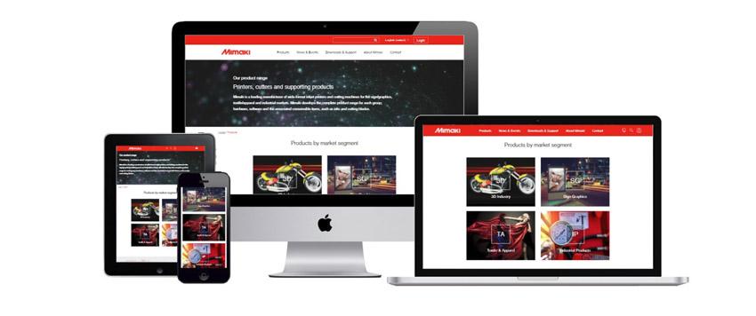 Mimaki predstavio novu, korisnički inspirativnu, web stranicu