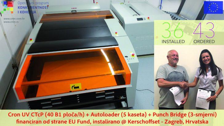 Uspješna instalacija Cron UV CTcP-a u tiskari Kerschoffset