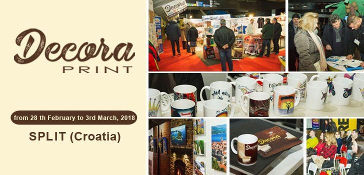 Decora Print fair held in Split