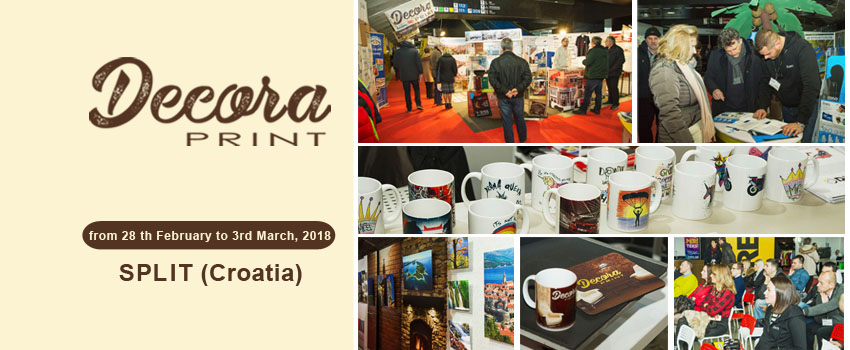 Decora Print fair held in Split