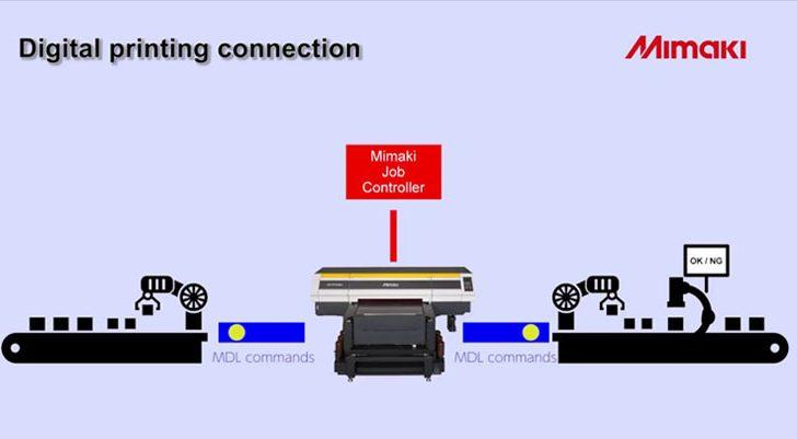 Mimaki predstavlja novi razvoj na području Interneta stvari (IoT)