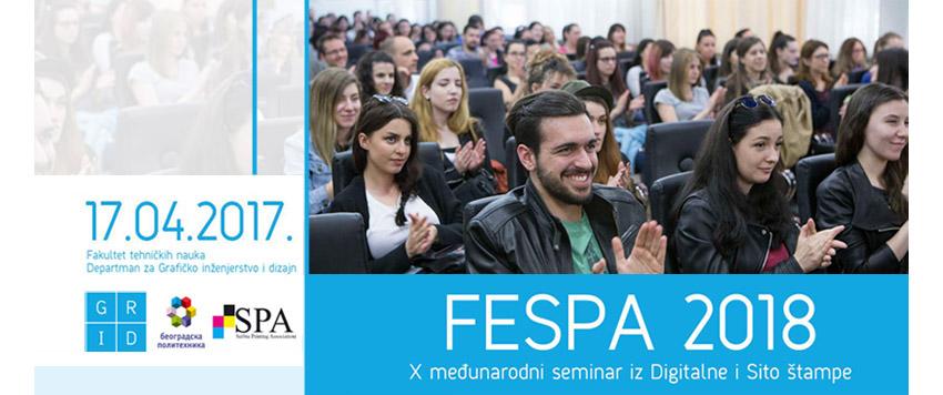 10. FESPA seminar na Fakultetu tehničkih nauka u Novom Sadu