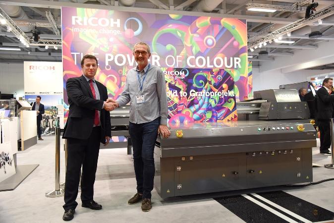 Grafoprojekt širi proizvodnju pisačem Ricoh Pro™ T7210, prvim takvim u Europi