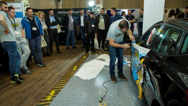 Treće regionalno natjecanje u car wrappingu 12. i 13. 9. u Zagrebu
