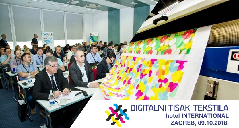 Najavljujemo konferenciju o digitalnom tisku tekstila