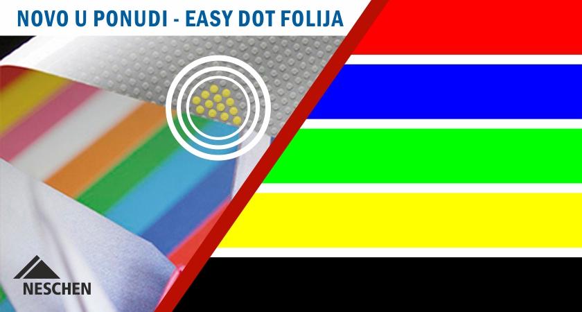 Nove Neschen Easy dot folije u boji