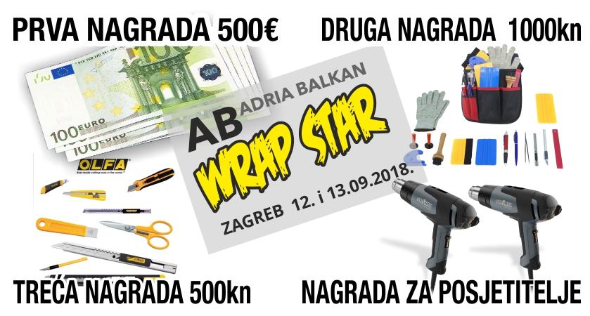Vrijedne nagrade natjecateljima, ali i posjetiteljima Wrap Star natjecanja u Westagateu