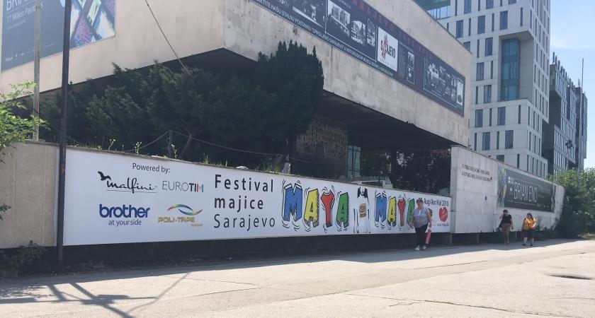 MAYA - festival majica u Sarajevu