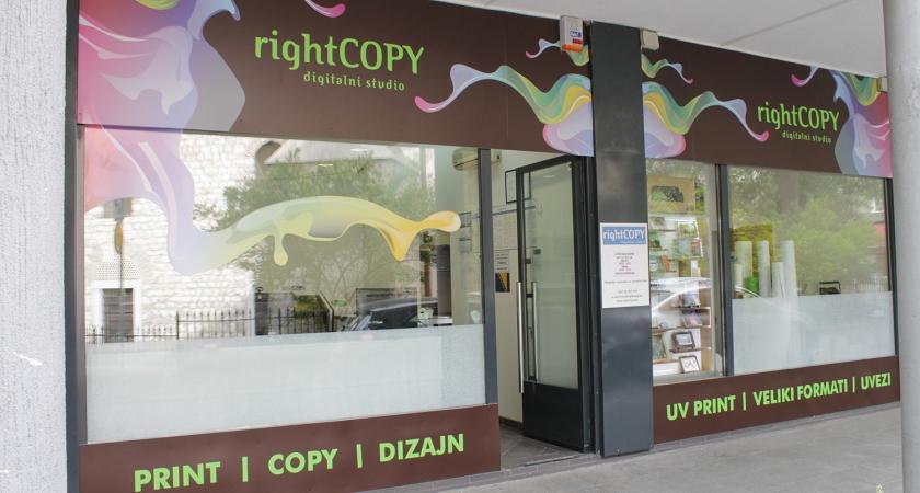 "Prodaje se sarajevska firma ""Right Copy"" d.o.o."