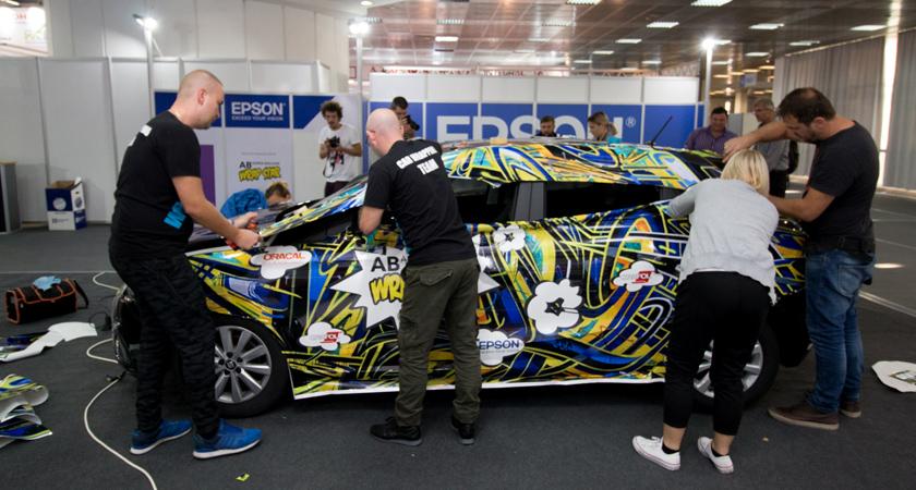 Regionalni wraperi nastupit će na svjetskom natjecanju u obljepljivanju vozila