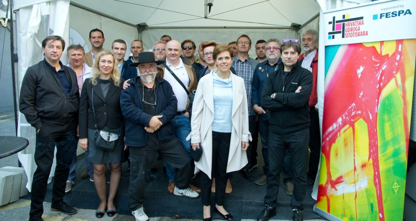 Održana redovna skupština Hrvatske udruge sitotiskara