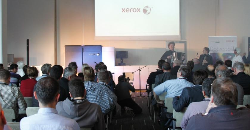 Xerox Iridesse glamurozno predstavljen u Ljubljani