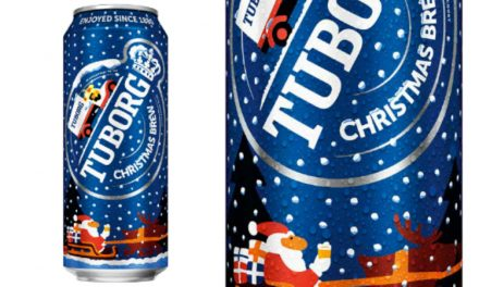 Tuborg i Ball stvorili čarobnu limenku blagdanskog piva