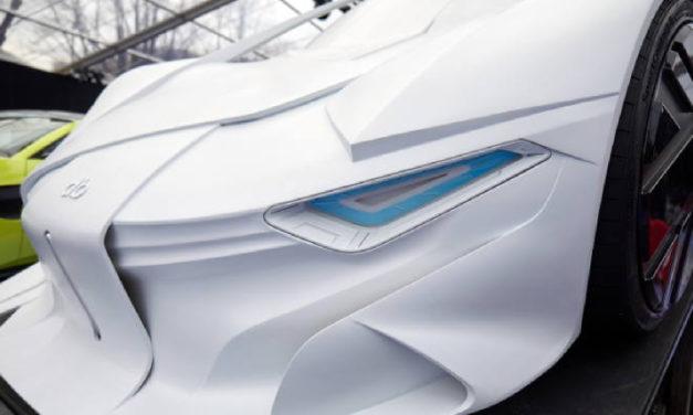 Massivit 3D model automobila pokazuje budućnost izrade prototipa vozila