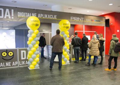 Ulaz na DA!-Digitalne Aplikacije i Info pult