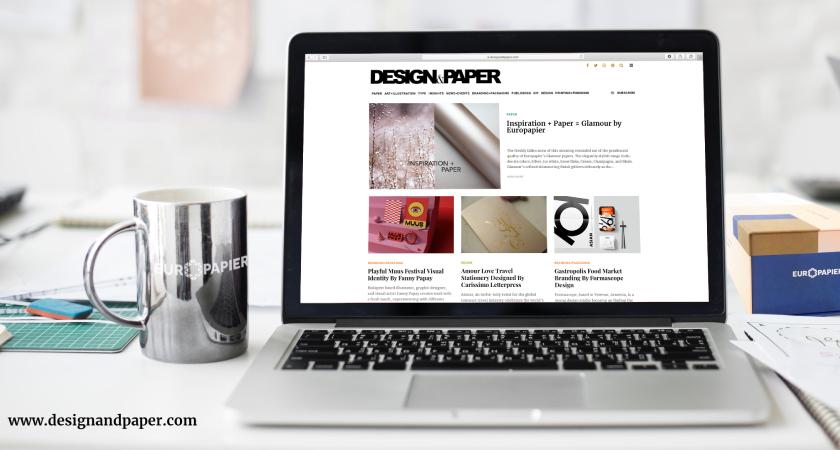 Europapierov Design & Paper blog se vratio s novijim, svježim dizajnom!