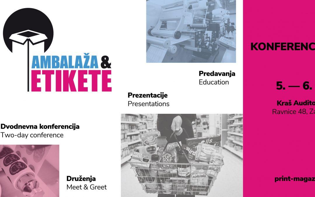 Najavljujemo konferenciju Ambalaža i etikete