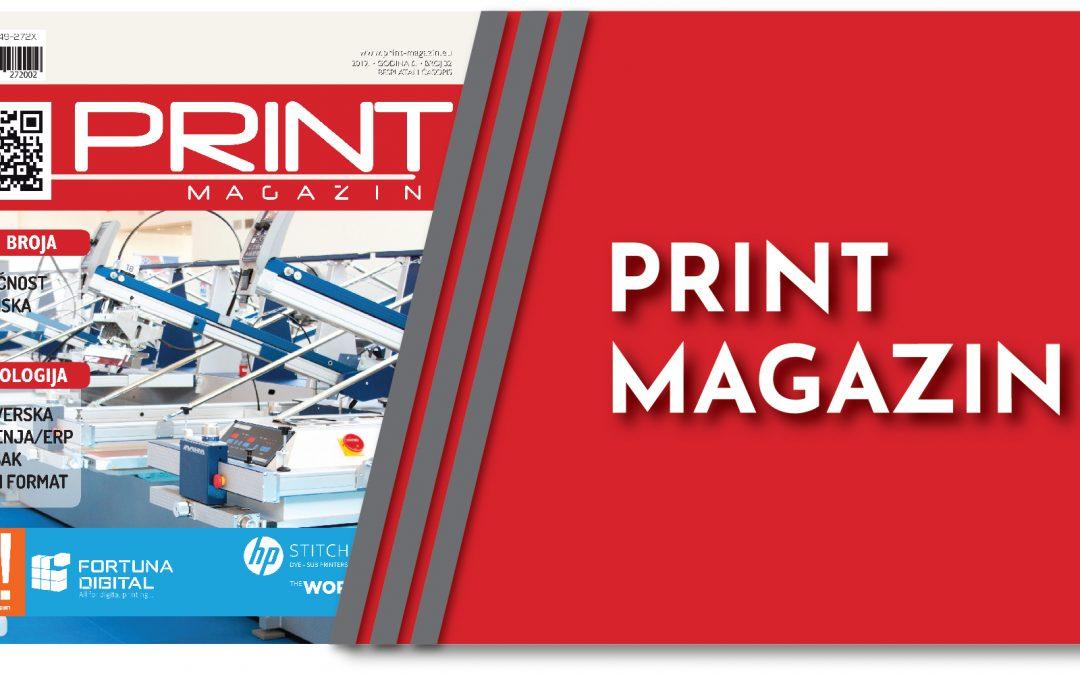 U novom Print Magazinu pročitajte…
