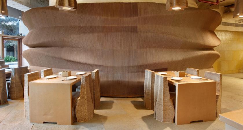 Restoran od kartona