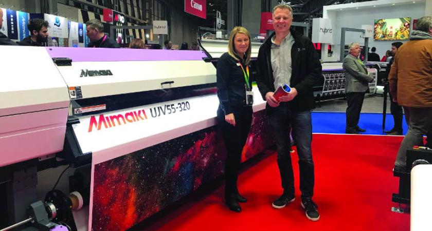 Modex se proširuje kupnjom Mimaki UJV55-320 pisača