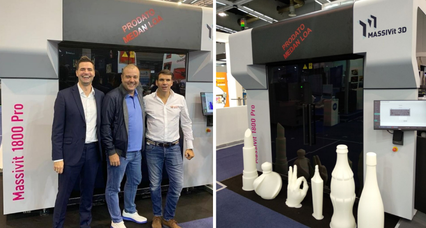Prodan i drugi Massivit 3D printer u regiji
