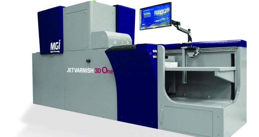 Predstavljen entry-level MGI JETvarnish 3D One doradni sustav